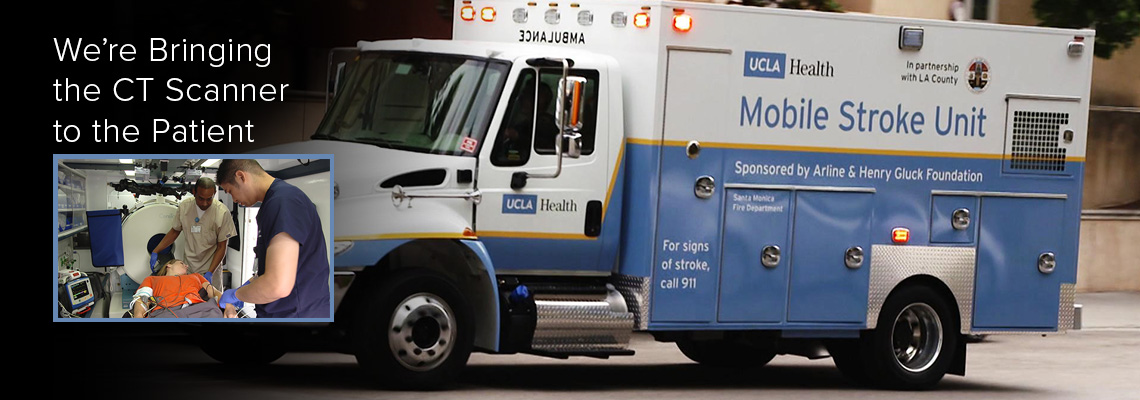 Mobile Stroke Unit: We're Bringing the CT Scanner to the Patient