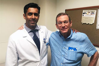 Bill Pickett, Prostatectomy Patient, UCLA and Dr. Saigal