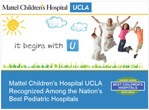 Mattel Children's Hospital UCLA, Recognized Among the Nation's Best Pediatric Hospitals