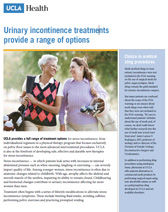 Urinary incontinence treatments PDF