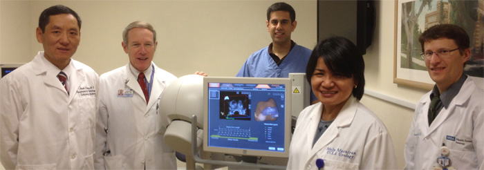 Prostate Biopsy Team at UCLA