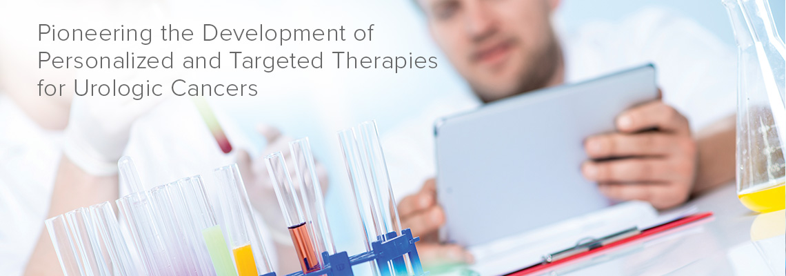 Pioneering the development of personalized and targeted therapies for urologic cancers