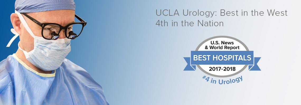 UCLA Urology - Best in the West, 4th in the Nation