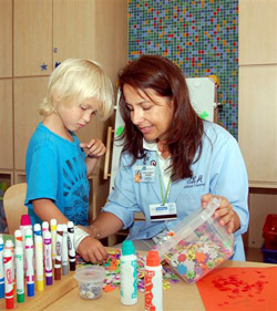 What is a typical college program for a child life specialist?